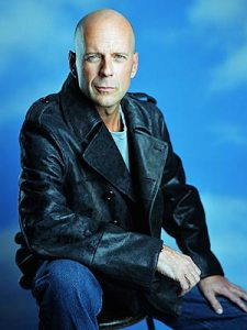 Bruce Willis is so awesome that if he could be a robot of anyone, he would be himself but with hair