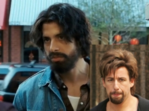 The zohan has better hair...
